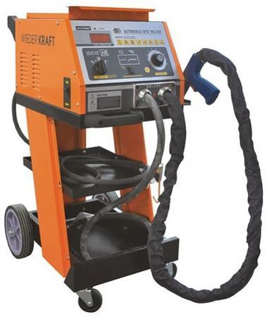 Сварочный аппарат WIEDERKRAFT WDK-5000 споттер 200-240в 50/60Гц 16А/max3800A цена