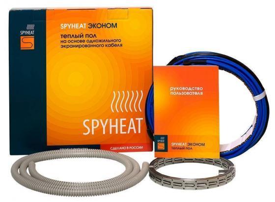 лучшая цена Комплекты тёплых полов SPYHEAT Эконом SH-1200 греющий кабель 7мм 1200Вт 6.7м2 гарантия 20лет