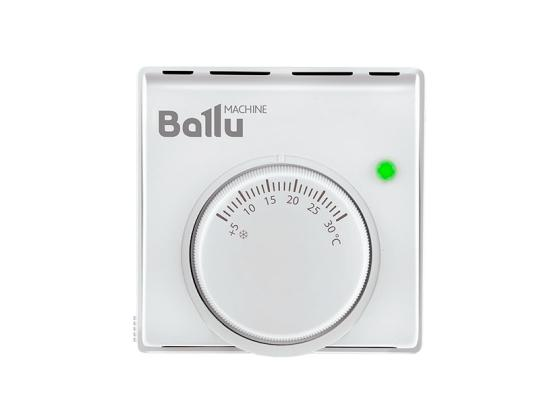 Термостат BALLU BMT-2 10А 220В t=+5…+30 °С 83x83x38 мм терморегулятор для ик обогревателей ballu bmt 2