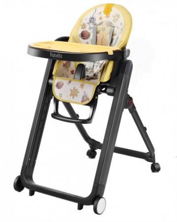 Стульчик для кормления Nuovita Futuro Nero (giallo) стульчик для кормления nuovita elegante acqua