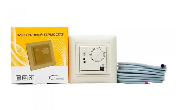 лучшая цена Терморегулятор SPYHEAT ETL- 308В беж. бежевый +15до+45С