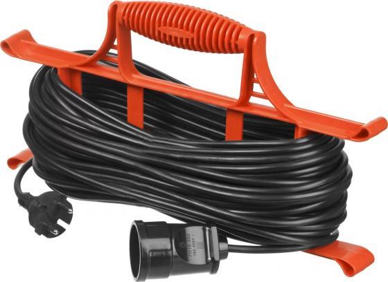 Удлинитель электрический STAYER MAXElectro 55018-50 на рамке, 50 м, 1 гнездо удлинитель stayer 20м на рамке 55018 20