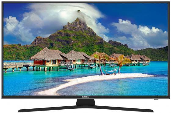 Фото - 55, LED, Full HD, Smart TV, DVB-T2/C/S2, Телетекст, Ethernet (RJ-45), яркость 400кд/м2, 6Вт, черный tv led goldstar 28 lt 28t600r hd ready smarttv android 30inchtv