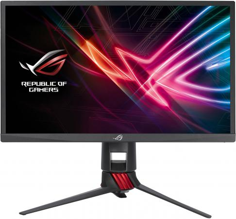 "лучшая цена Монитор 23.8"" ASUS ROG Strix XG248Q черный TN 1920x1080 400 cd/m^2 1 ms DisplayPort HDMI Аудио USB 90LM03Z0-B01A70"