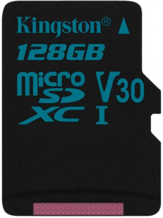 все цены на Карта памяти MicroSDXC 128GB Kingston Class UHS-I U3 V30 Canvas Go [SDCG2/128GBSP] онлайн