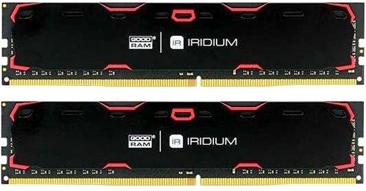 Оперативная память 8Gb (2x4Gb) PC4-19200 2400MHz DDR4 DIMM CL17 Goodram IR-2400D464L17S/8GDC память sodimm ddr3 goodram 8gb for apple w amm13338g