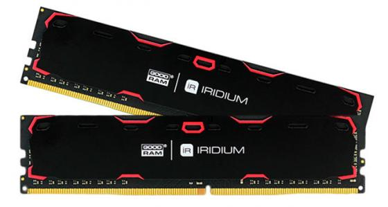 Оперативная память 8Gb (2x4Gb) PC4-19200 2400MHz DDR4 DIMM CL15 Goodram IR-2400D464L15S/8GDC цена и фото