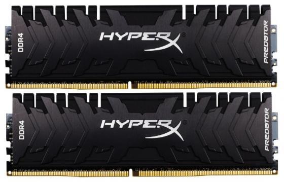 Модуль памяти DDR4 Kingston 8Gb KIT (4GbX2) 3200MHz HyperX PREDATOR Black Series CL16 [HX432C16PB3K2/8]