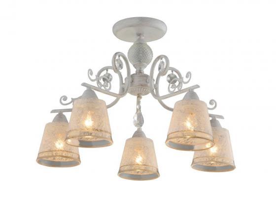 Люстра ELLY E14X5X60W ANTIQUE WHITE 1744/5C люстра потолочная j light 1744 5c