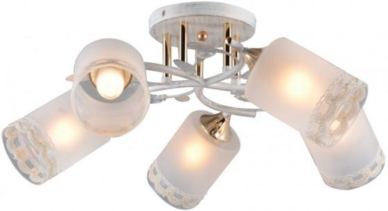 Купить Люстра HELENA E27X5X60W WHITE/GOLD 1243/5C, J-LIGHT