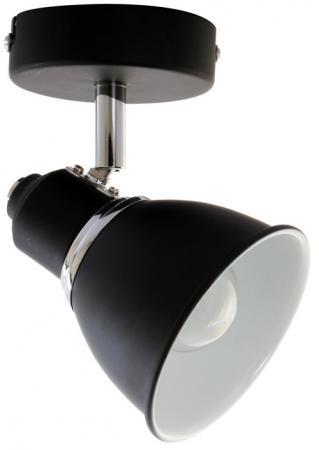 Спот OTESS E14X1X60W BLACK/CHROME 1225/1A цена