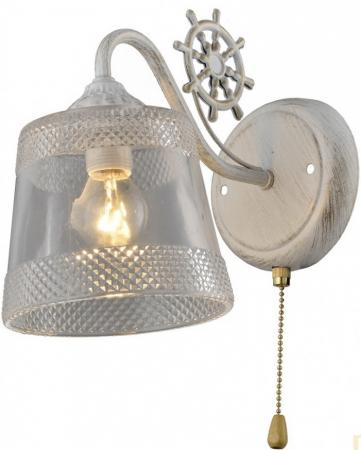 Светильник настенный NAVY E14X1X60W ANTIQUE WHITE 1743/1W gu 5 3 1w 95lm 2500k 3200k warm white 1 led spot light bulb