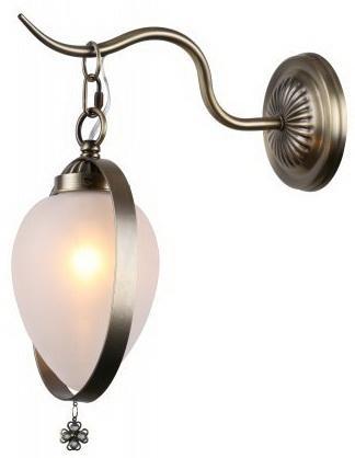 Светильник настенный GLORIA E14X1X40W BRONZE 1212/1W турник house fit настенный с кольцами 1212 52