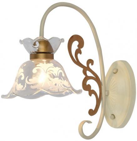 Светильник настенный KLEO E14X1X60W WHITE/MATTE GOLD 1799/1W gu4 1w 90lm 6000k 1 led white light reusable lamp white dc 12v