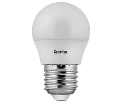 купить Лампа светодиодная CAMELION LED7-G45/830/E27 7Вт 220В Е27 3000К по цене 75 рублей