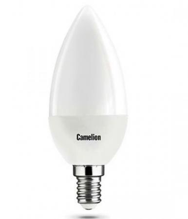 Лампа светодиодная CAMELION LED7-C35/830/E14 7Вт 220В Е14 3000К лампа светодиодная camelion led5 c35 830 e14 5вт 220в е14 3000к
