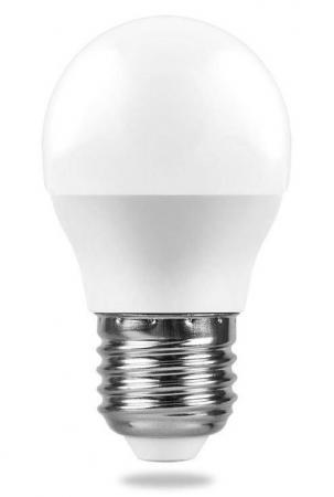 Лампа светодиодная FERON 25405 (5W) 230V E27 4000K, LB-38 лампа светодиодная капсульная feron lb 432 g9 5w 4000k