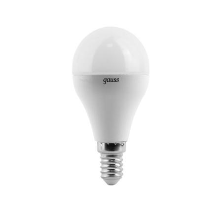 Лампа GAUSS LED Elementary 53128 globe 8w Е14 4100k 1/10/100