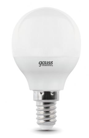 Лампа GAUSS 105101207-D led globe-dim e14 7w 4100к диммируемая 1/10/100 стоимость