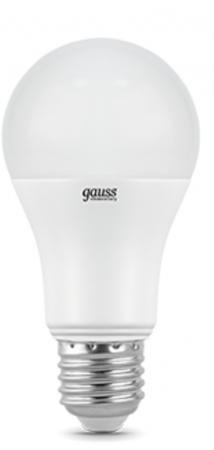 Лампа светодиодная груша Gauss 23219 E27 20W 3000K лампочка gauss elementary e27 a60 20w 3000k 23219