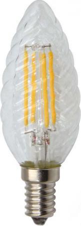 Лампа светодиодная свеча витая Rev ritter 32430 0 E14 5W 2700K лампа галогенная свеча витая uniel 04112 e14 28w hcl 28 cl e14 candle twisted