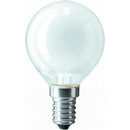 Лампа накаливания PHILIPS P45 60W E14 FR шарик матовый philips лампа philips nr50 40w e14 054159