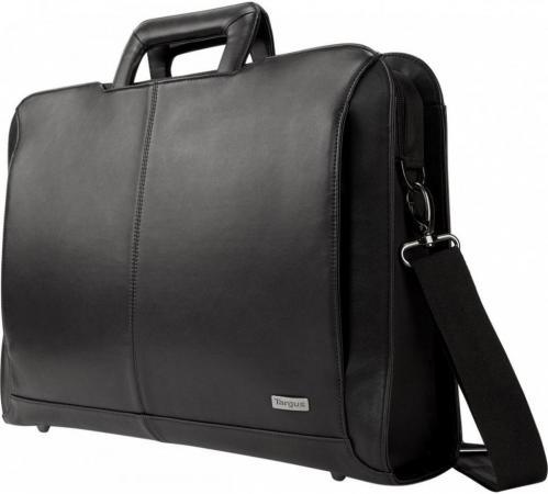 Фото - Сумка для ноутбука 14 DELL Targus Executive Topload кожа черный 460-BBUL сумка для ноутбука 14 hp spectre slim topload 1pd70aa замша полиуретан сплит кожа черный серый