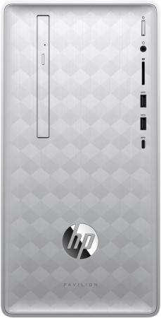 HP Pavilion 590-p0019ur AMD Ryzen 5 2400G(Ghz)/8192Mb/128PCISSD+1000Gb/DVDrw/Ext:nVidia GeForce GTX1050(2048Mb)/war 1y/Natural Silver/W10 + USB KBD, USB MOUSE
