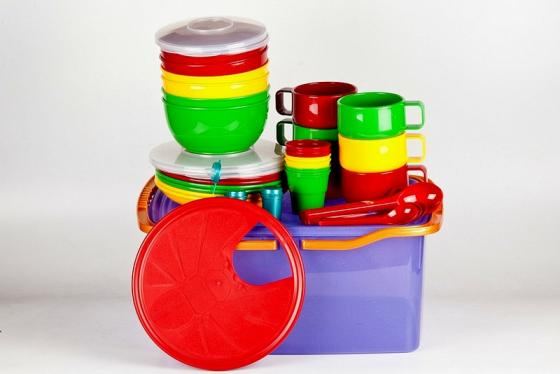 Фото - SOLARIS набор посуды на 6 персон в контейнере [супермаркет] jingdong геб scybe фил приблизительно круглая чашка установлена в вертикальном положении стеклянной чашки 290мла 6 z