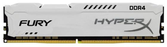 Оперативная память 16Gb (1x16Gb) PC4-23400 2933MHz DDR4 DIMM CL17 Kingston HyperX FURY White HX429C17FW/16 память ddr4 kingston hyperx hx424c15fr2 8