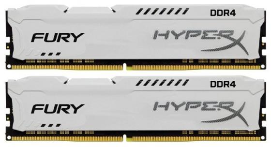 Kingston 32GB 2933MHz DDR4 CL17 DIMM (Kit of 2) HyperX FURY White цена и фото