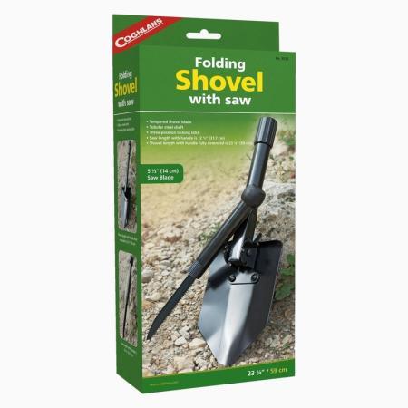 COGHLANS 9725 Лопата складная с пилой лопата coghlans 9065