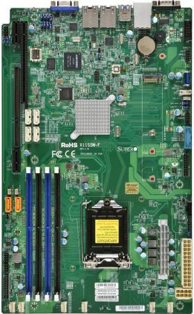 Материнская плата Supermicro MBD-X11SSW-F-O Socket 1151 C236 4xDDR4 1xPCI-E 16x 1xPCI-E 4x 6 Нестандартный цена и фото