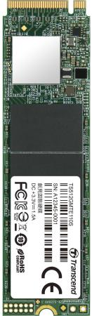 цена на Твердотельный накопитель SSD M.2 512 Gb Transcend TS512GMTE110S Read 1800Mb/s Write 1500Mb/s 3D NAND TLC