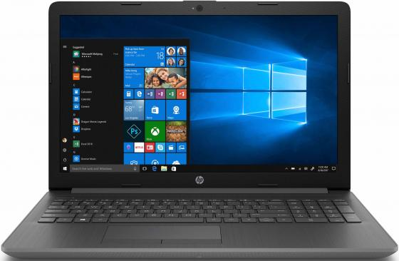 Ноутбук HP15 15-db0200ur 15.6 1366x768, AMD A4-9125 2.3GHz, 4Gb, 500Gb, DVD-RW, WiFi, BT, Cam, Win10, серый ноутбук acer extensa ex2519 p9dq pentium n3710 4gb 500gb dvd rw intel hd graphics 405 15 6 hd 1366x768 linux black wifi bt cam 3500mah
