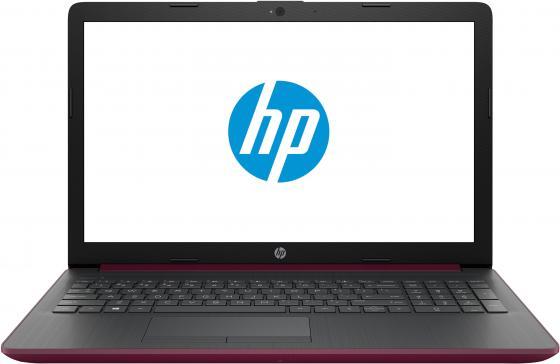 Ноутбук HP15 15-da0030ur 15.6 1366x768, Intel Pentium N5000 2.7GHz, 4Gb, 500Gb, DVD-RW, WiFi, BT, Cam, Win10, бордовый ноутбук acer extensa ex2519 p9dq pentium n3710 4gb 500gb dvd rw intel hd graphics 405 15 6 hd 1366x768 linux black wifi bt cam 3500mah