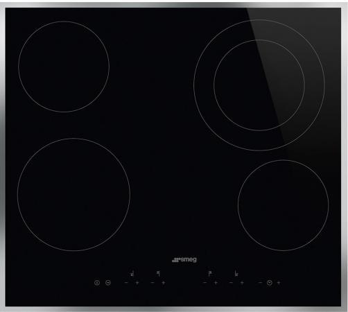Варочная панель электрическая Smeg SE364ETFX черный smeg kt110pe
