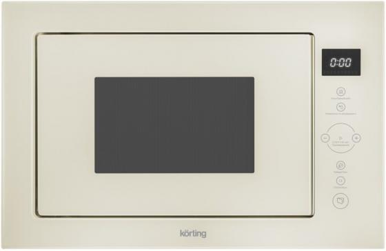 Микроволновая печь Korting KMI 825 TGB 900 Вт бежевый