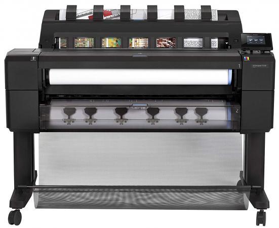 HP Designjet T1530 PS 36-in Printer (EncrHDD) hp designjet t930 ps 36 in printer encrhdd