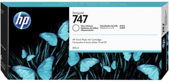 Фото - HP 747 300-ml Gloss Enhancer Ink Cartridge new hot 1000g pair silicone breast forms tear drop shape artificial false fake bust enhancer mastectomy transvestite boobs