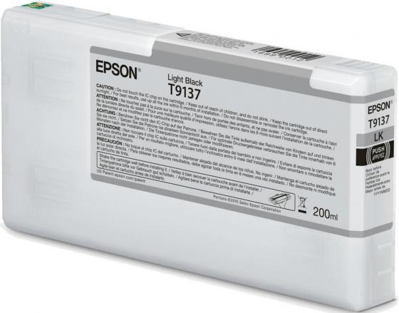 Epson I/C Light Black (200ml) epson i c light cyan 200ml