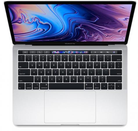 Ноутбук Apple MacBook Pro 13. 2560x1600 Intel Core i5-8300H 512 Gb 8Gb Bluetooth . Iris Plus Graphics 655 серебристый macOS MR9V2RU/