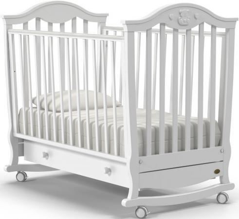 Кроватка-качалка Nuovita Sorriso Dondolo (bianco) детская кровать nuovita grano dondolo bianco белый