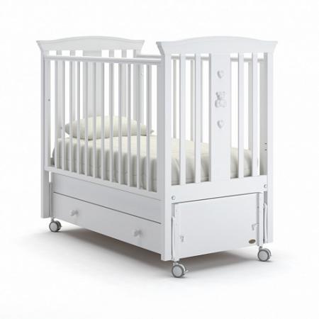 Кроватка с маятником Nuovita Fasto Swing (bianco) alfa 20260