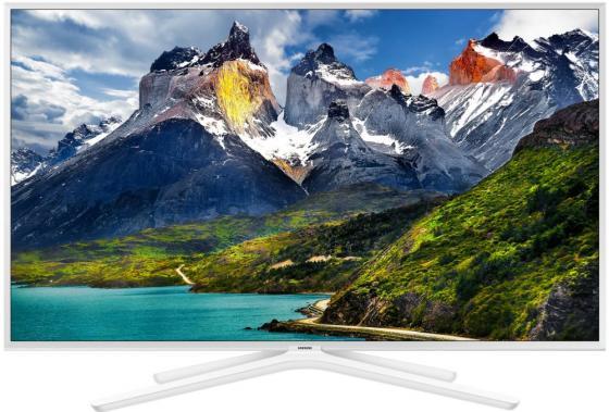 Телевизор LED 43 Samsung UE43N5510AUX белый 1920x1080 50 Гц Wi-Fi Smart TV USB цена
