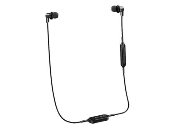 Наушники Panasonic RP-NJ300BGCK черный panasonic rp nj300bgck in ear earphone bluetooth wriless stereo sound headphones headset music earpieces earphones