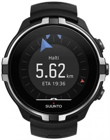 Часы SUUNTO SPARTAN SPORT WHR BARO STEALTH/ Размеры 50x50x17мм, вес 74г, полиамид, силиконовый ремешок