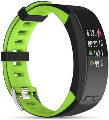 Фитнес браслет Qumann QSB X Green+Black цена