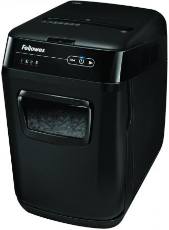 цена Шредер Fellowes® AutoMax™ 200C. (200 листов) , 32 литр, 4х38 мм (класс 4), автореверс, скобы/скрепки/карты/CD онлайн в 2017 году