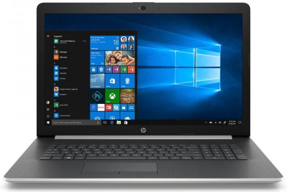 Ноутбук HP 17-by0036ur 17.3 1920x1080 Intel Core i7-8550U 1 Tb 128 Gb 12Gb AMD Radeon 530 4096 Мб серебристый Windows 10 Home 4JW93EA ноутбук dell inspiron 5770 17 3 1920x1080 intel core i7 8550u 2 tb 256 gb 16gb amd radeon 530 4096 мб серебристый windows 10 home 5770 5901